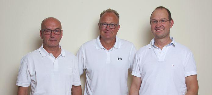 Dr. Franz Ertl, Dr. Hans Fünfgelder, Dr. Jens Flottemesch